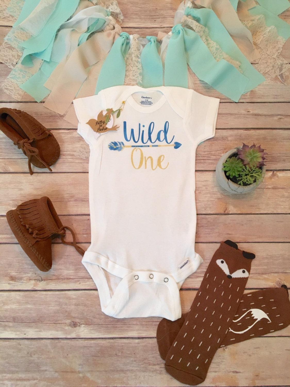 Wild e esie Baby Boy Clothes Baby Shower Gift Boho