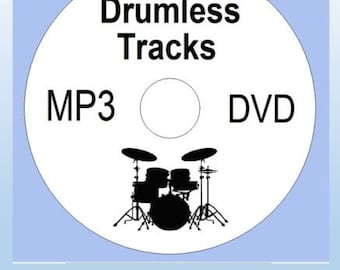 1000 Drumless Mp3 Tracks Rehersal Drum Practive ACDC - Black Sabath - Rolling Stones - Bryan Adams - Iron Maiden - Deep Purple Loads More.
