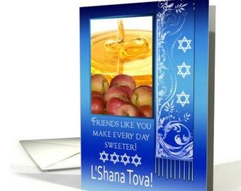 Friend  Rosh Hashanah  Jewish New Year  L'Shana Tova card