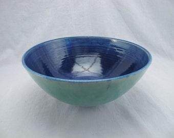 Handmade ceramic bowl (wheel thrown)