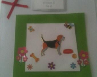 Handmade card 'Good Luck'