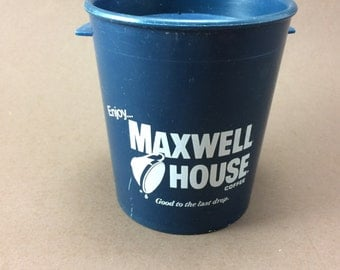 Collector's Vintage Maxwell House Commuter Cup