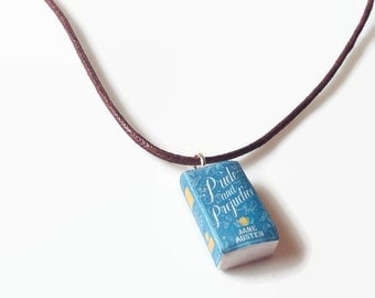 Pride and Prejudice - Handmade book necklace