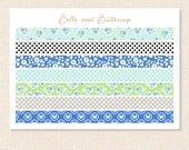 The Daydream Collection Washi Planner Stickers - Matte or Glossy