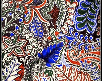 Patterned Artwork - customised to your own colour scheme!
