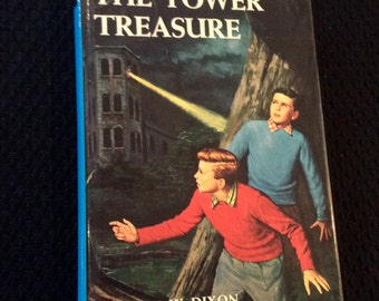 First of the Hardy Boy series by Franklin W. Dixon - The Tower Treasure, c1987, 1996 printing