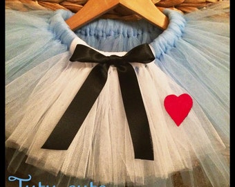 Alice 'inspired' tutu skirt.
