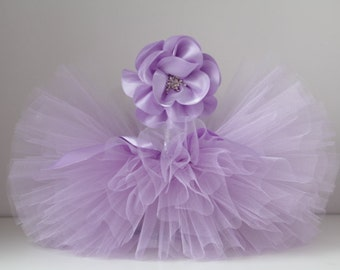Lavender Tutu and Headband Set.Newborn Tutu set , Baby Tutu, Newborn Photo Prop, Photo Prop,Pastel tutu, Tutus for Children