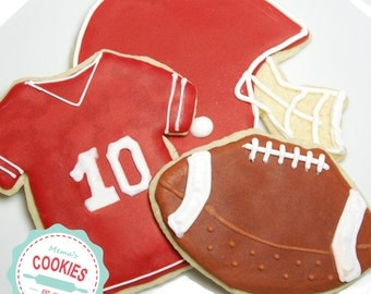 Football Cookie Assortment  Item # 1012