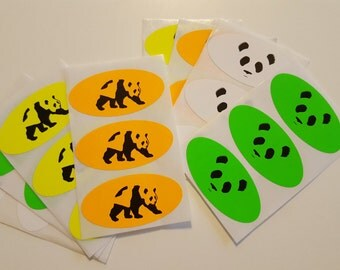 Giant Panda Guerilla Dub Squad Stickers (24 pack)