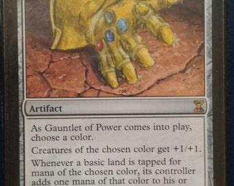 Mtg altered gauntlet of power