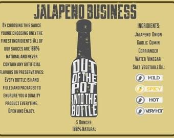 Jalapeno Business Hot Sauce