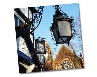 "Greeting card – "" The Gatehouse, Highgate Village"" – FREE UK postage"