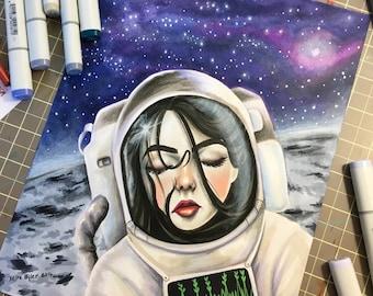 Astronautical PRINT