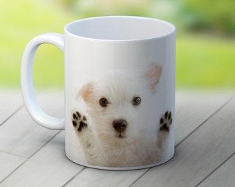 West Highland Terrier Westie Dog Puppy - High Quality Ceramic Coffee Tea Mug
