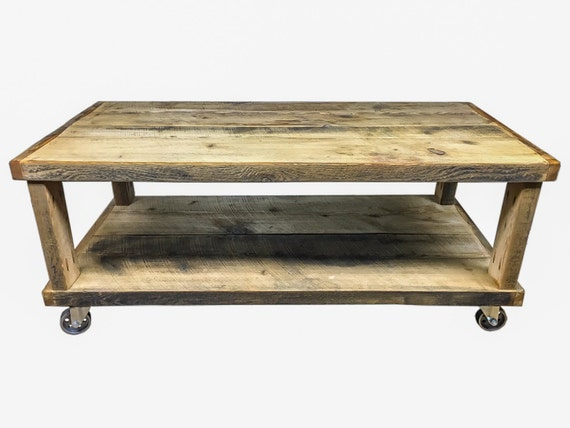 Reclaimed Barn Wood Rustic Coffee Table By Unitedreclaimedinc
