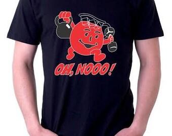 Oh No Kool Aid Man Crossfit Shirt