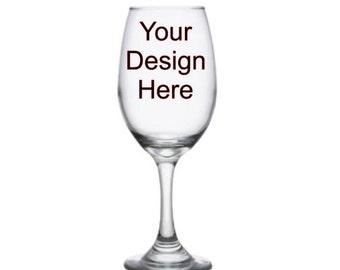 13oz Tapered Wine Glass