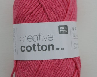 Rico Creative Cotton Aran Candy Pink 064