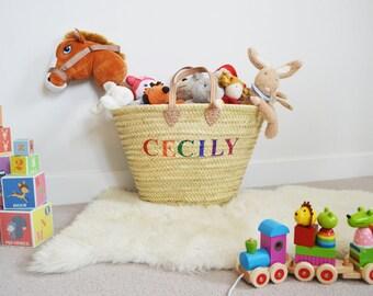 Personalised Toy Storage Basket