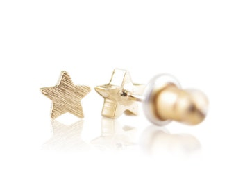 Ear plug Star Gold/rose/silver - free shipping
