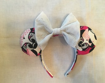 Disney Minnie Mouse Glasses Mickey Ears