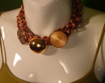 "Necklace Series ""eighties"" # 108-unique piece"