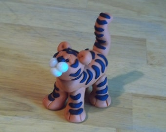 FIMO Tiger Figurine