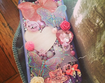 Ready to ship! 6 iphone case with butterflies and bows!