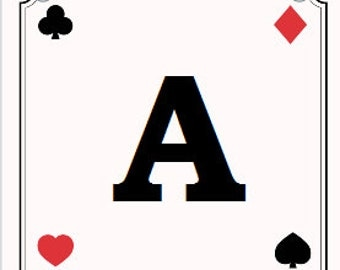 Banner Playing Cards DIY PDF