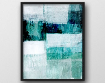 Watercolor painting abstract art print printable by for Sell abstract art online