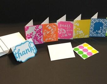 Mini Note Cards