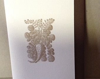 Radish Card