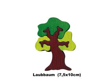Mini Puzzle Tree / Handmade / Animals / Wooden toys / Forest / Waldorf / Montessori