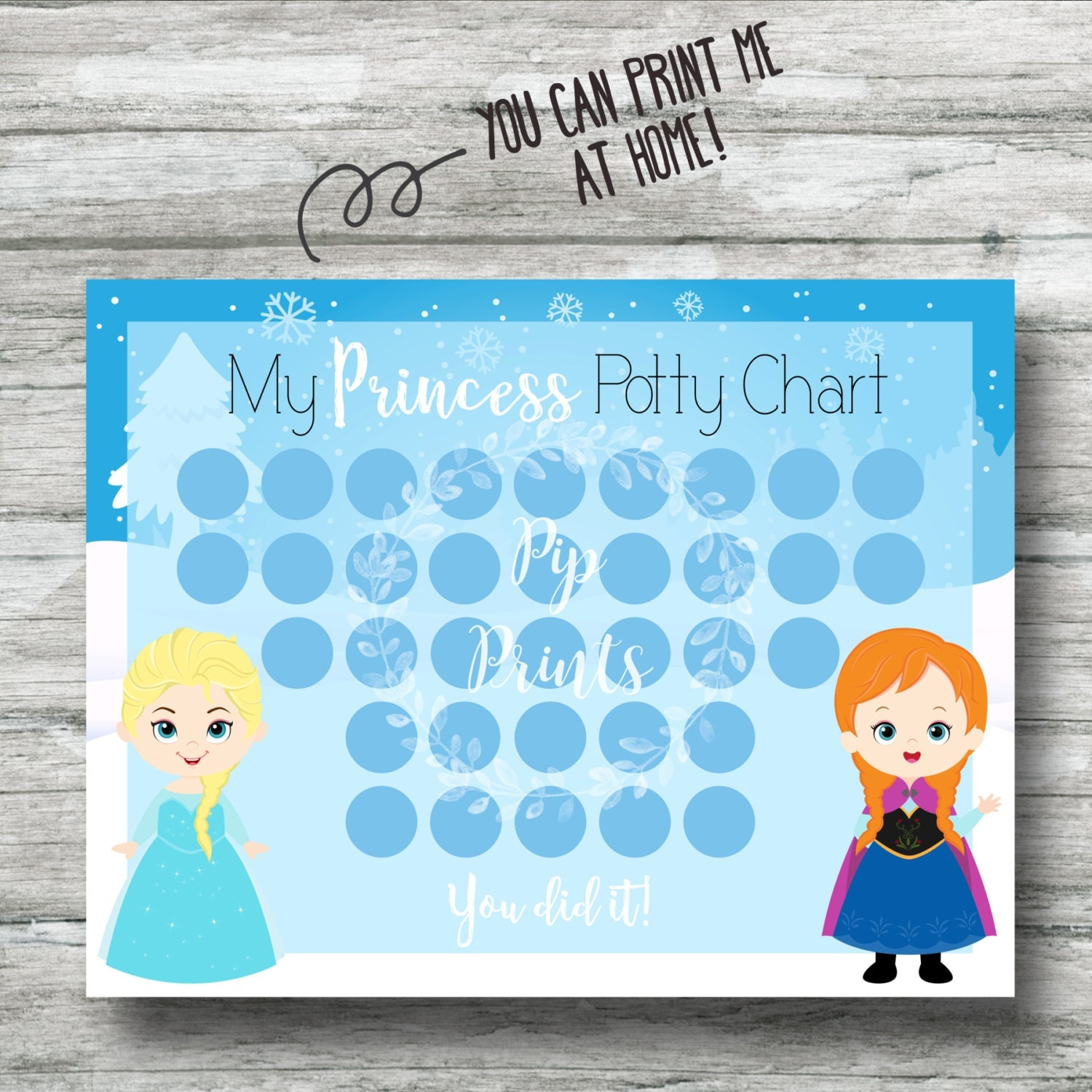 potty training chart printable frozen potty training chart instant anna and elsa pdf