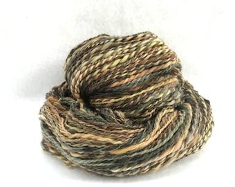 Handspun Hand Dyed Yarn