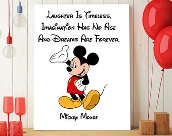 Mickey Mouse Wall Art mickey mouse nursery | etsy