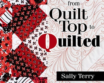 How To Machine Quilt Patterns Tutorial Book Full of Shortcuts, Tips and Techniques for All Levels from Domestic to Long Arm Machines