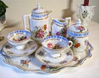 A china moka set