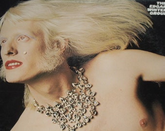 The Edgar Winter Group vinyl record, They Only Come Out At Night vintage record album