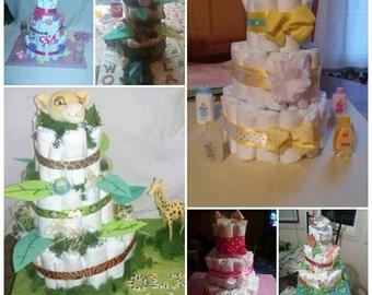 Diaper cakes & creations