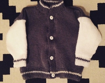 Baby college jacket size 0-6 months