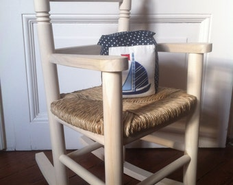 Rocking Chair made of wood - rocking chairs hand-painted or natural