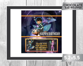MILES FROM TOMORROWLAND Chocolate Wrapper, Miles from Tomorrowland Chocolate Wrappers, Miles from Tomorrowland Party