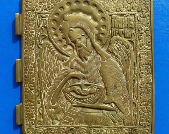 Bronze Icon of Saint John 18-19 century.