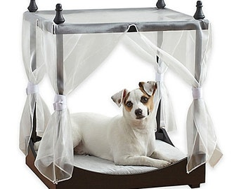 Dog canopy bed