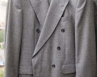 100% Italian wool Double Breasted Jacket and pans.