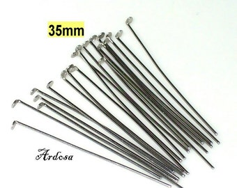 20 stainless steel rivet pins 35 mm (12.35.1)