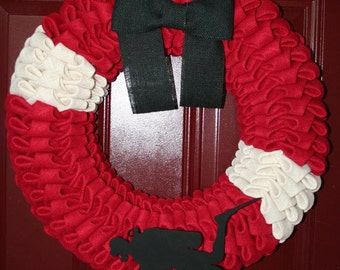 Scuba Wreath; Dive Wreath; Underwater Wreath; Dive Flag Wreath