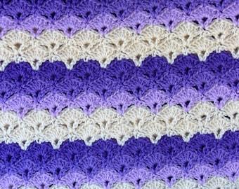 Shades of Purple Afghan